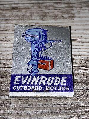 Vintage Evinrude Outboard Motors Matchbook Reading Boat Works Reading Penna