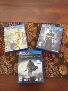 Play station game 4 PS4