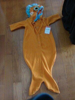 LLOWEEN BABY GOLD FISH COSTUME BRIGHT ORANGE/BLUE/BLACK/YELL (Goldfish Halloween-kostüm)