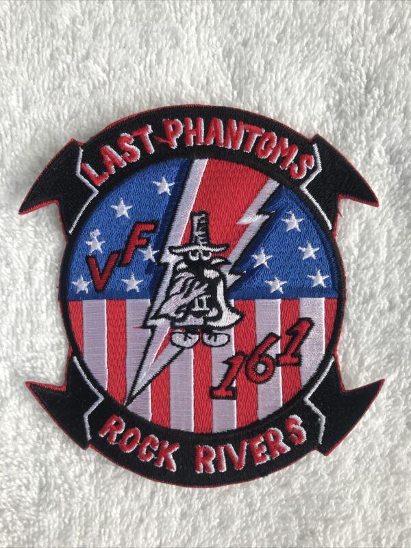 Military Patch LAST PHANTOM ROCK RIVERS VF 161 Navy New