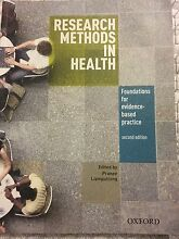 Research methods in health- 2nd edition Balaclava Port Phillip Preview