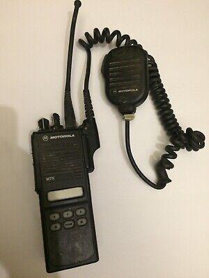 Motorola Mtx8250 Radio 800 Privacy Plus Aah25uch6gb6an Very Good