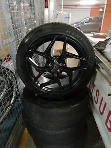 Black 19 inch Hussla wheels 5x100