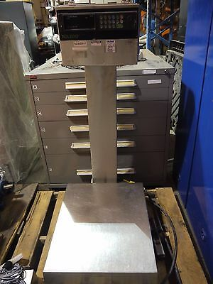 Mettler Toledo Platform Scale Model 8136 Ss Terminal Scale 120v
