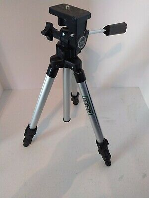 Weston Telescoping Tripod Camera Camcorder Go-Pro WX-4000 Lightweight 1.5 lb