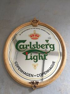 Carlsberg beer -bar mirror for the man cave or bar