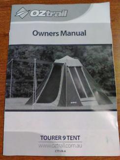 Oztrail Tourer 9 Tent