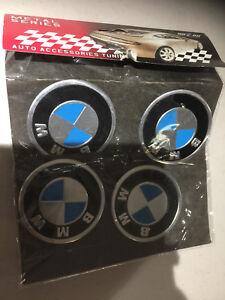 Brand New BMW Centre Center Cap Stickers