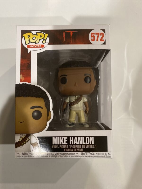 FUNKO POP MOVIES IT THE MOVIE MIKE HANLON #572 NEW VINYL FIGURE