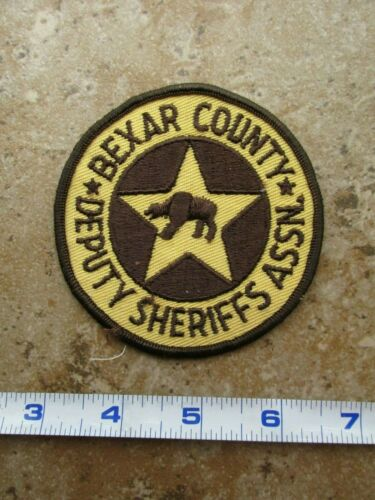 OBSOLETE Vintage State of Texas Bexar County Deputy Sheriffs Association Patch