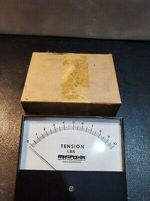 New Hoyt 9a22-1 S-7642 0-1ma 0-10 Tension Lbs Panel Meter