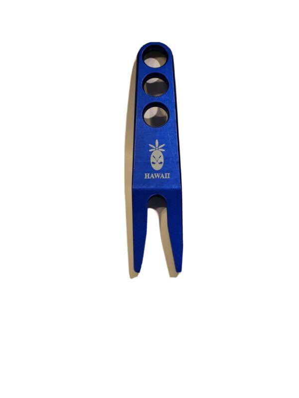 Scotty Cameron Blue Divot Tool with Hawaii Pineapple logo