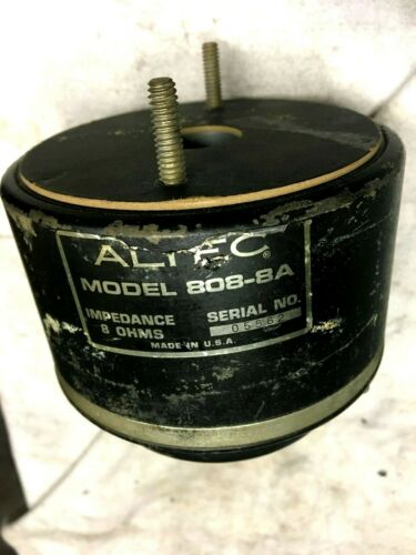 Altec Lansing 808-8A High Frequency Driver 8Ohms