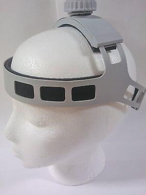 Dental Headband For Led Lights And Loupes