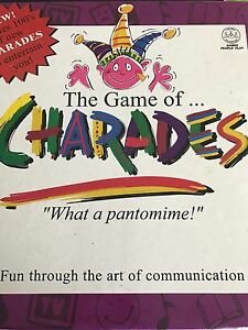 Charades board game. Glenwood Blacktown Area Preview