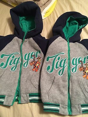 Toddler Twin Costumes (Disney Tigger Jacket Toddler,  Size 12 Months. Reversible,,Twins ?? 2)
