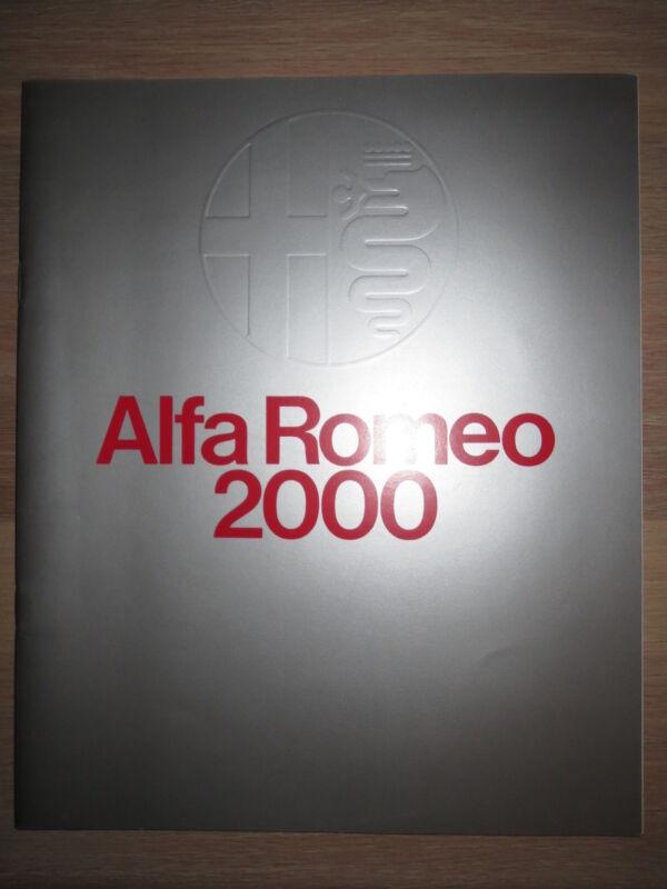 Alfa Romeo 1974 Brochure U.S. Market