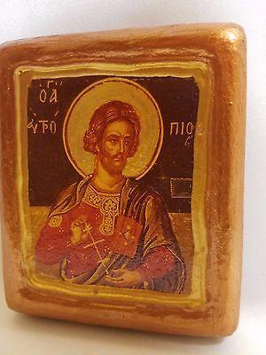 Saint Aphtropios Aphtropius Agios Aftropios Christianity Religious Art Icon