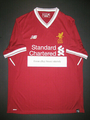 Liverpool Fc Home Shirt - 2017-2018 New Balance Liverpool FC Home 125th Anniversary Jersey Shirt Kit LFC
