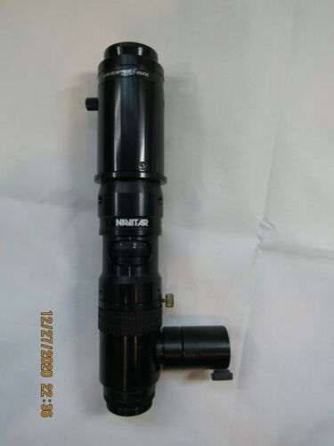 Navitar Machine Vision Ultrazoom Lens 1-60191 + 0.5X Adapter 1-60439