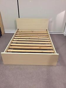 Double Ikea Bed Botany Botany Bay Area Preview