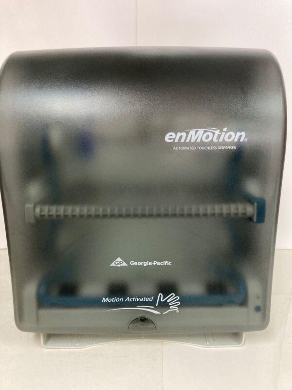 enMotion Touchless Paper Towel Dispenser Translucent Smoke 59462 Georgia Pacific
