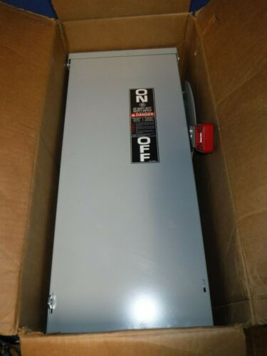 GE TH3362R 60A DISCONNECT/SAFETY SWITCH Brand new