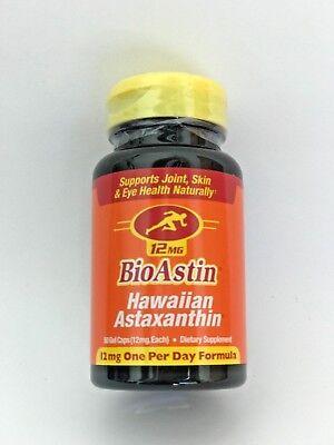 Bioastin Hawaiian Astaxanthin Nutrex Hawaii 12 Mg 50 Gel Caps Exp 10 2019