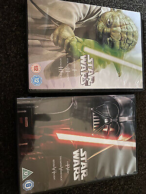 Star Wars DVD Collection x 2 - Prequel Trilogy and Original Trilogy - Ep 1-6