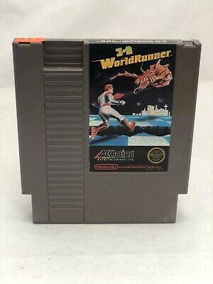 3D WorldRunner - Nintendo NES - Free Shipping