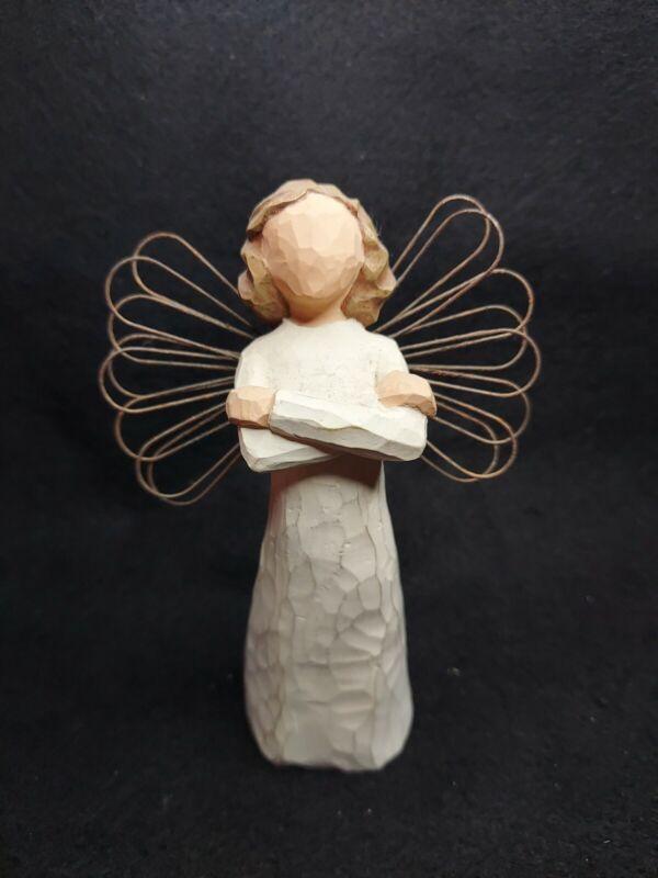 Willow Tree ~ ANGEL OF STRENGTH ~ 2001. *NO BOX, NO TAG*