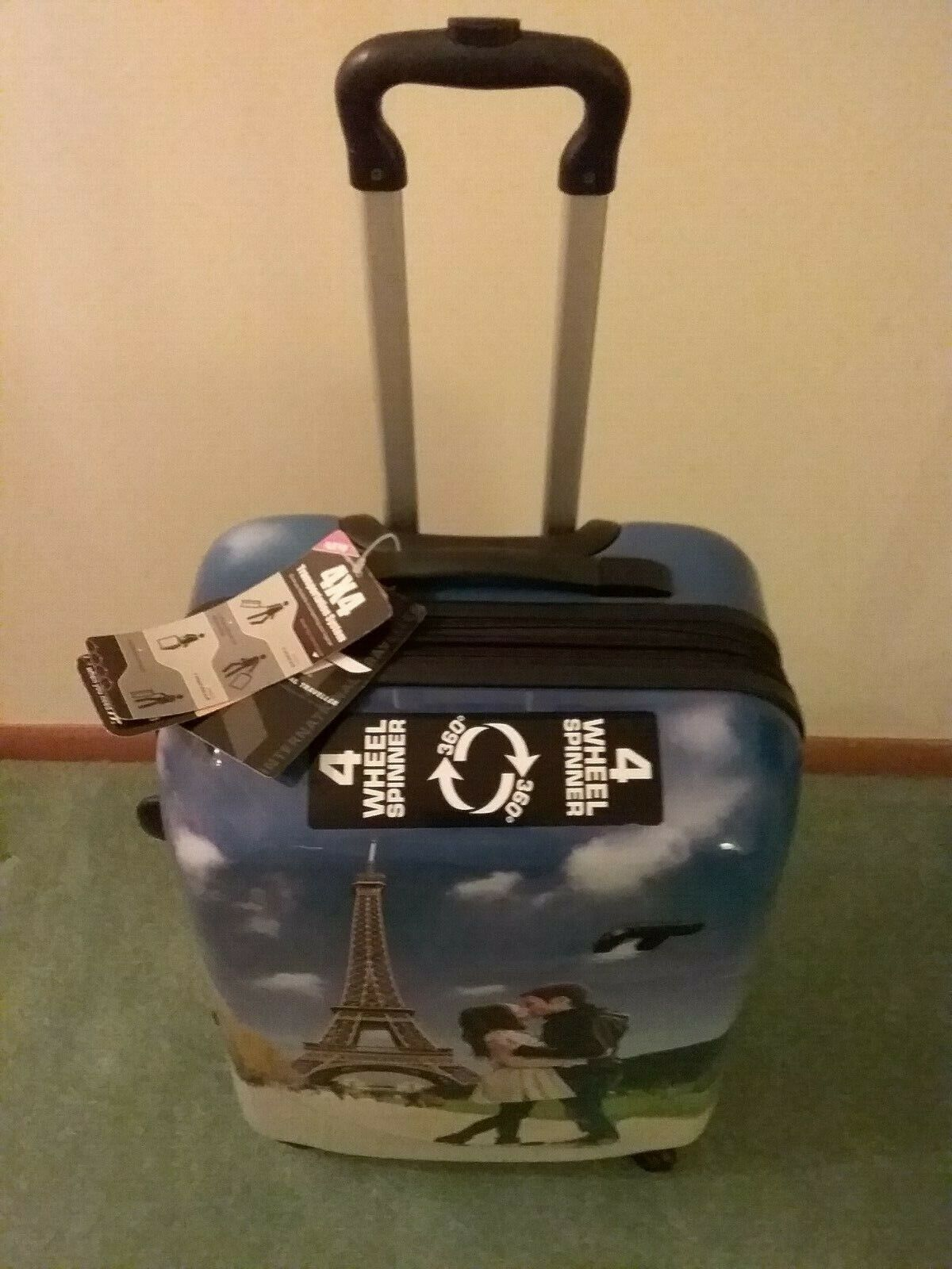 Paris Themed Suitcase, Never Used, Still Has Tags - Brand New - $35.00