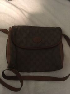 Authentic Early 1970's Gucci Crossbody Purse