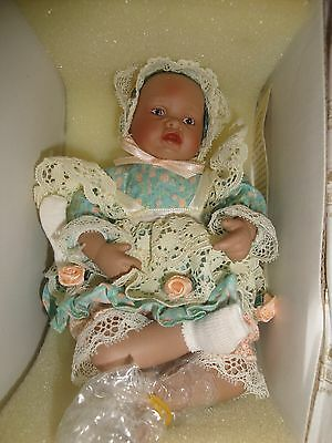 ASHTON DRAKE GALLERIES*MINI DOLL Yolanda Bello Porcelain Doll African American