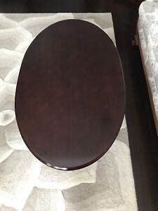 Beautiful oval coffee table for sale