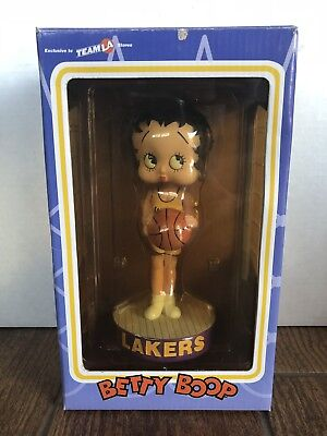Los Angeles Lakers Team Store - BETTY BOOP LOS ANGELES LAKERS 2002 Bobble head SOLD Exclusive thru Team LA Store
