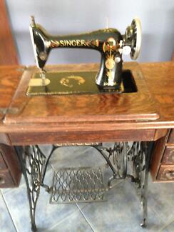 singer treadle sewing machine Korumburra South Gippsland Preview
