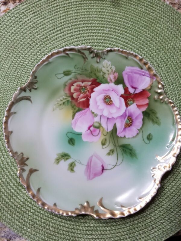 Vintage Royal Munich Hand Painted Plate
