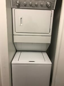 Whirlpool stacked washer and dryer