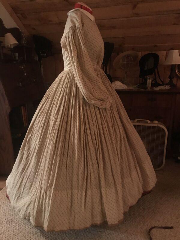 Civil War Era Sheer Day Dress