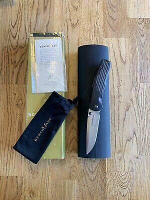Benchmade Gold Class 890-111 Torrent Nitrous Steigerwalt Knife M390 Limited #85