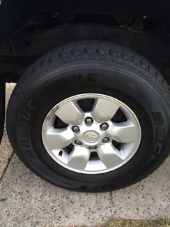 Toyota Hilux SR5 Wheels Ryde Ryde Area Preview