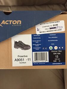Size 15 mens safety shoes