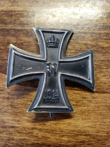 Original WW1 1914-1918  Iron Cross 1st Class German - Marked KO