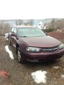 2004 Chevy Impala full part out