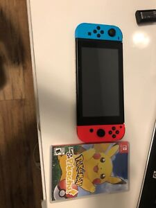 Nintendo switch barely used it like new