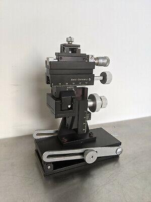 Marzhauser Mm33 Micromanipulator W Tilting Device Right Sided Wpi M3301r