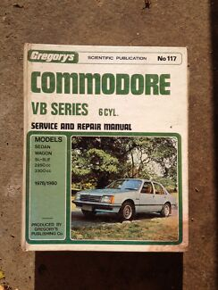 Holden commodore vb series 6 cylinder workshop manual Morisset Lake Macquarie Area Preview