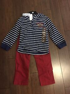 New! Boys Carter's outfit 3T