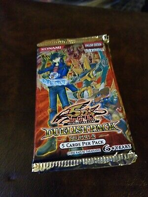 Yugioh 5ds Duelist Pack Yusei 2 One 1 Pack 1st Edition English